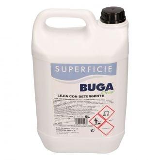 Lejía con Detergente Buga Clean 5L
