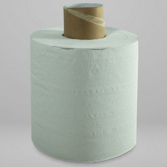 Bobina Secamanos Rollo Reciclada Buga 2 capas - 180m blanca
