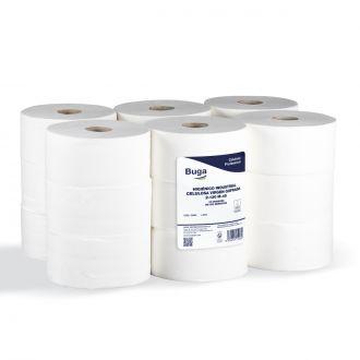 Papel Higiénico Industrial Buga Celulosa 2 Capas - 130m