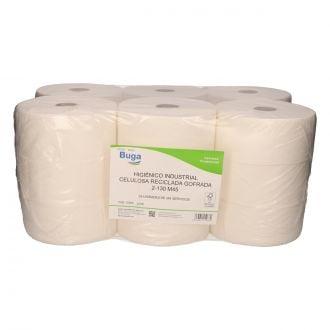 Higiénico Industrial Buga Reciclado 2 capas - 130m
