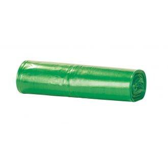 Bolsa de basura doméstica 54x60cm verde G60