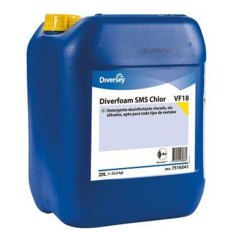 Detergente desinfectante Diverfoam SMS Chlor VF18 20L