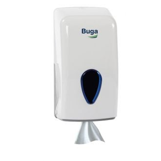 Dispensador Secamanos Mini Buga ABS Blanco