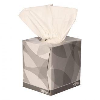 Pañuelo Facial Kleenex 2 capas en cubo
