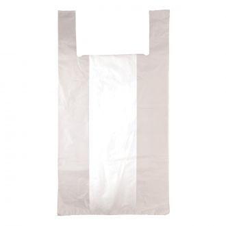 Bolsa camiseta 35x50cm blanca