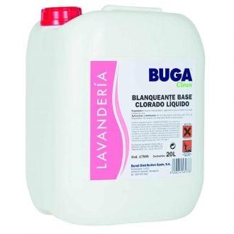 Blanqueante Cloro Activo Buga 20L