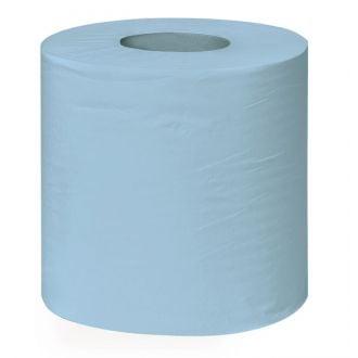 Bobina Secamanos Rollo Reciclada Buga 2 capas - 150m azul