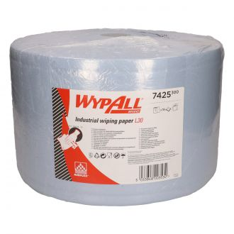Bobina Industrial Paños WypAll L30 3 capas - 750 paños