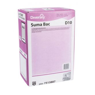 Detergente Suma Bac D10 10L