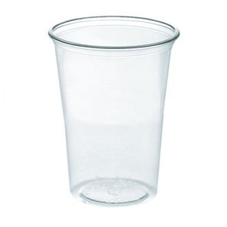 Vaso PLA transparente 330ml Compostable