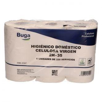Higiénico Doméstico Buga Celulosa 2 capas - 35m