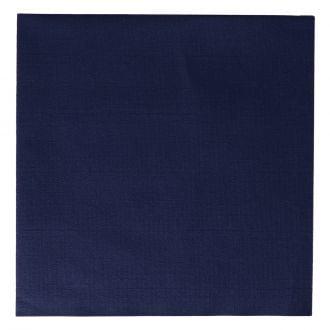 Servilletas Dunisoft 40x40 Duni 1 capa azul oscuro