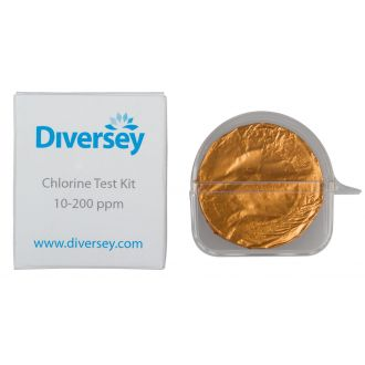 Kit Determinación ppm de cloro Diversey