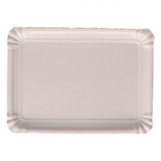 Bandeja Cartón Llana 31x38 Blanca