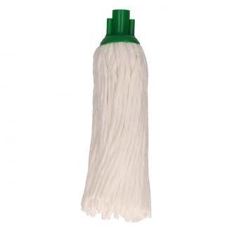 Fregona Spunlace Tiras Celulosa con Cabezal Verde 125gr