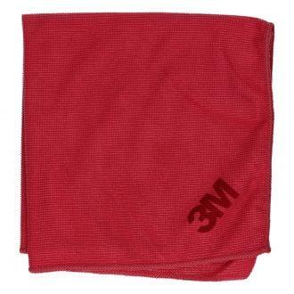 Bayeta de Microfibra 36x36cm Rojo 218gr/m2