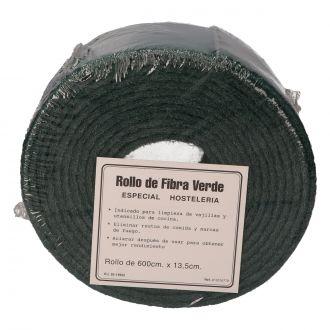 Estropajo Rollo Fibra Verde Plus para Limpieza General