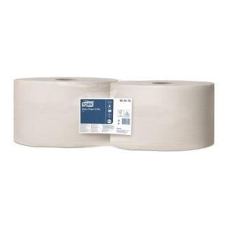Bobina Industrial Tork Celulosa 2 Capas - 825m Blanca