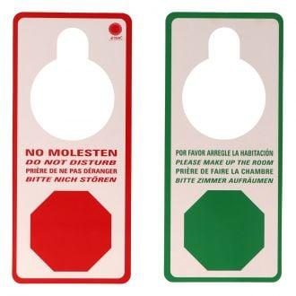 "Cartel ""No molestar"" de 9x20cm"