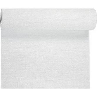 Mantel Rollo Tête-à-Tête Evolin 0,40x24m Duni Blanca