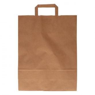 Bolsa con Asa Kraft 32+12x41