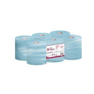 Bobina Secamanos GC Reciclado Autocorte 2 Capas - 150m Azul