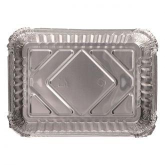 Envase Aluminio Rectangular 590ml Canto Alto