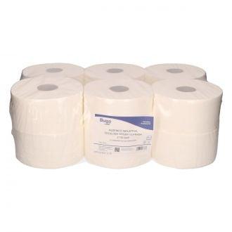 Papel Higiénico Industrial Buga Celulosa 2 Capas - 150m