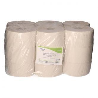 Papel Higiénico Industrial Buga Reciclado 1 Capa - 250m