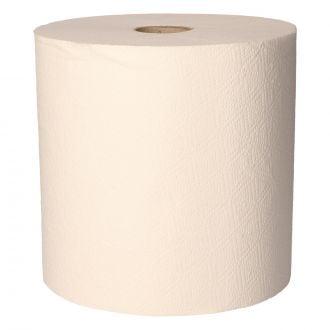 Toalla Secamanos Rollo Reciclada Buga 2 capas - 157m blanca