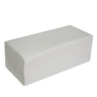Toalla Secamanos V Celulosa 2 capas blanca