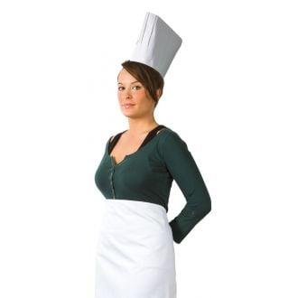 Gorro Cocinero Chef 195mm Alto
