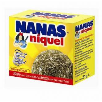 Estropajo Niquel Nanas 21gr