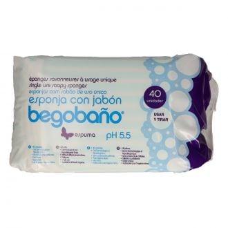 Esponjas con jabón Sensitive Begobaño