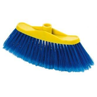 Cepillo de Barrer Curvo Azul