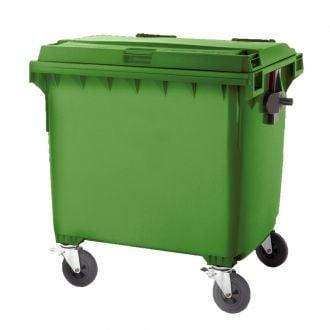 Contenedor de residuos 1100L Verde