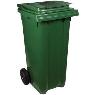 Contenedor de residuos 120L verde