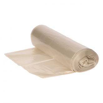 Bolsa de basura Doméstica 54x73cm transparente G140