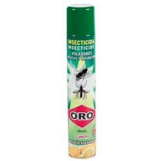 Insecticida Spray voladores Oro 1L - Limón