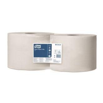 Bobina Industrial Tork Celulosa 2 Capas - 500m Blanca