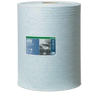Bobina Industrial Tork Paño de limpieza 1 capa - 152m azul