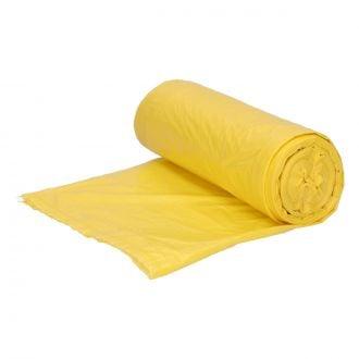 Bolsa de basura Doméstica 54x60cm amarilla G60