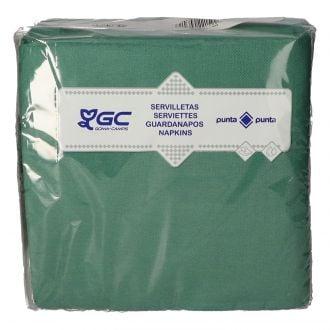 Servilleta GC 40x40cm Verde 2 capas