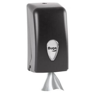 Dispensador secamanos mini Buga ABS negro