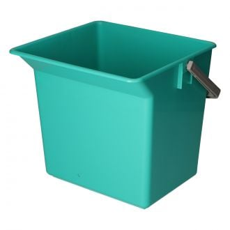 Cubo 6L con asa verde TTS