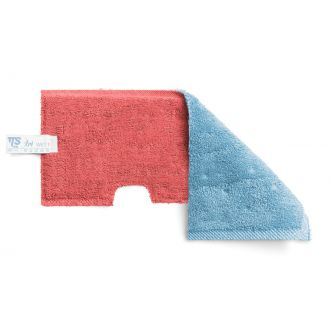 Mopa Poliéster Rojo y Azul 46cm