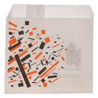 Bolsa papel antigrasa 12x12