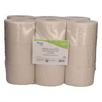 Papel Higiénico Industrial Buga Reciclado 2 Capas - 100m