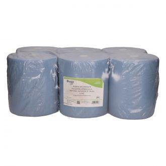 Bobina Secamanos Greensource Autocorte Reciclado 2 Capas - 140m Azul