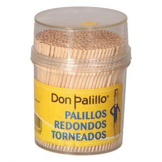 Palillo Redondo torneado con 3 muescas y acabado en punta